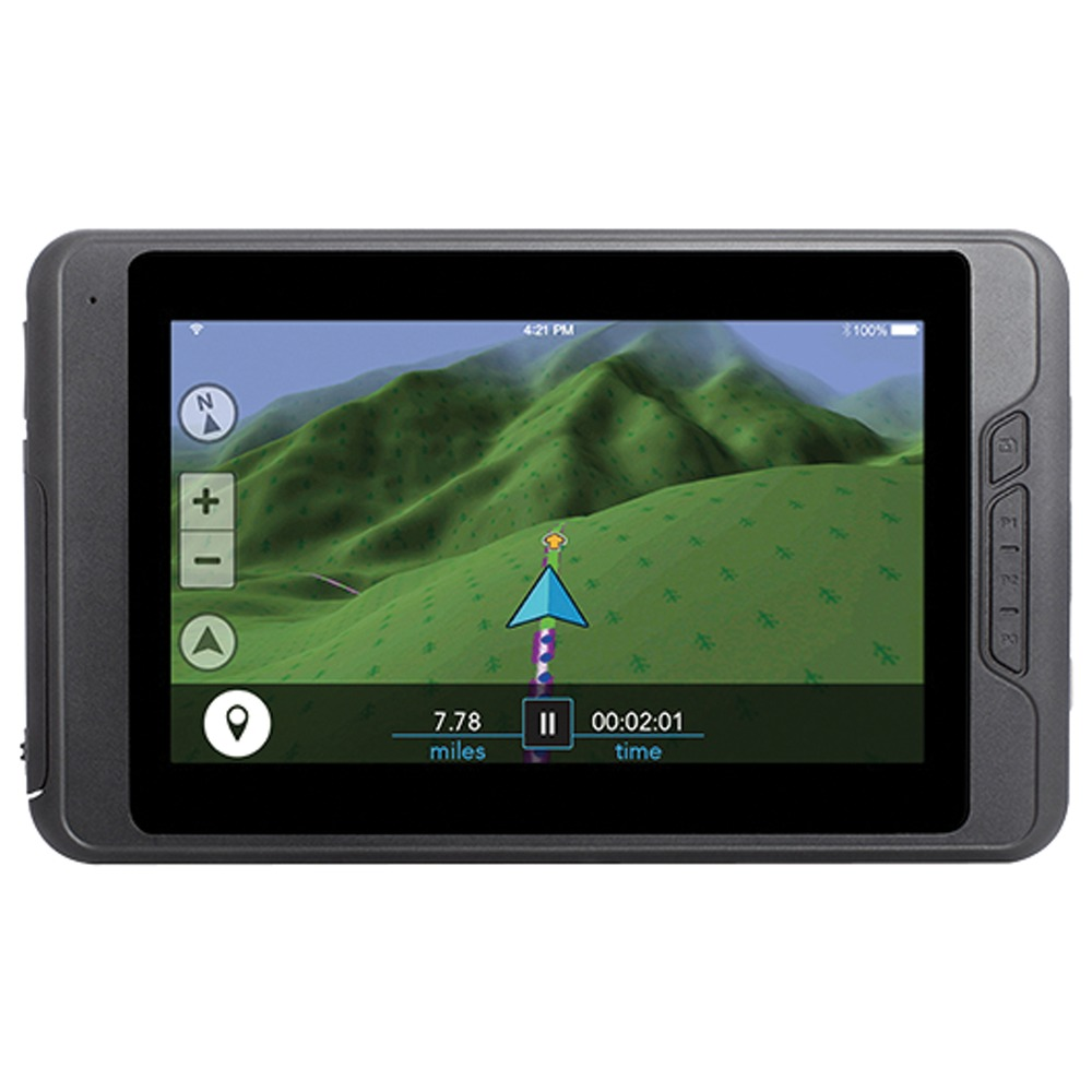 "Magellan Trx7 Trail & Street 7"" Gps Navigator With Rear-facing Trail Ca"