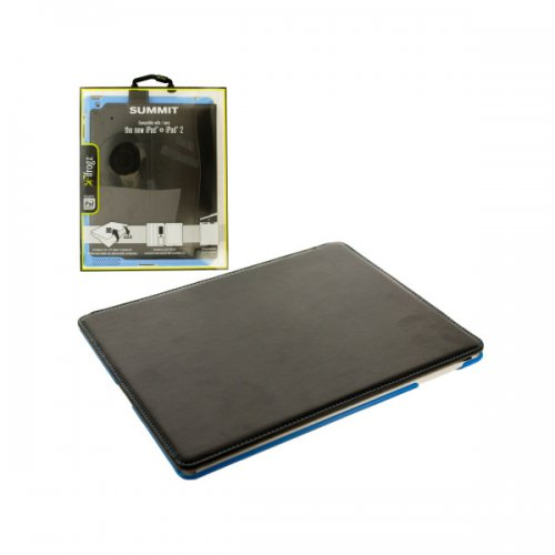 Black and Blue ifrogz iPad Snap-In Folio Case