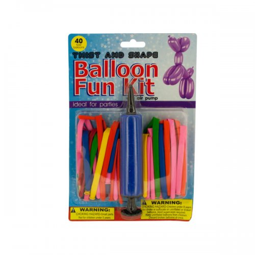 Twist and Shape BALLOON Fun Kit with Air Pump