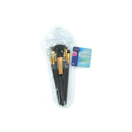 COSMETIC brushes in case (set of 7)