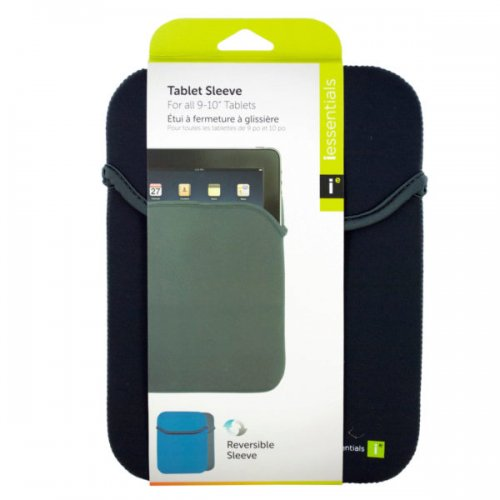 iessentials Universal Gray Reversible Tablet Sleeve