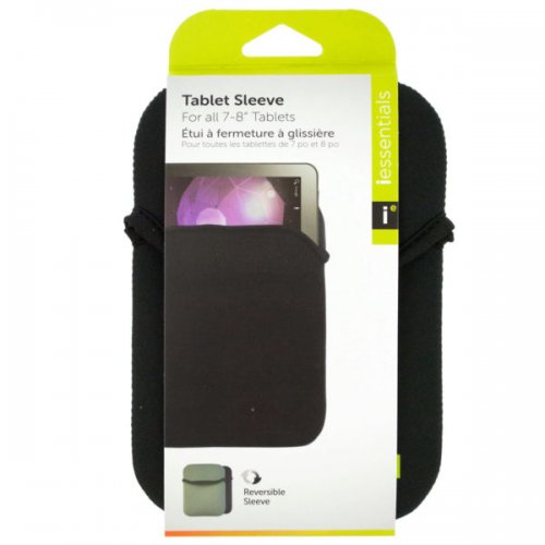 iessentials Small Black Reversible Tablet Sleeve