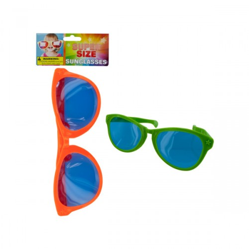 super sized SUNGLASSES assorted colors