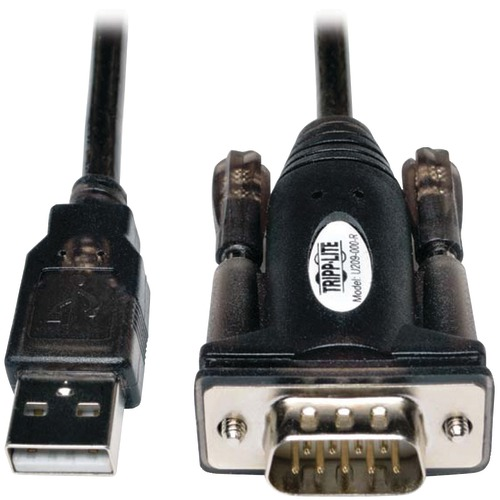 Tripp Lite USB 2.0 A-male To D89-male Serial Adapter Cable, 5ft