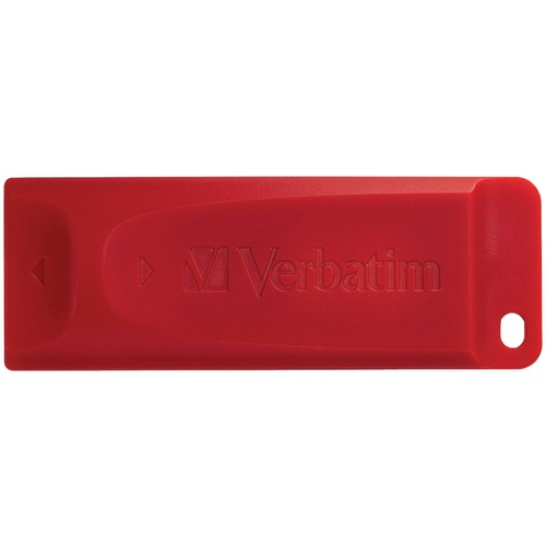 Verbatim Store 'n' Go USB Flash Drive, Red (64b)