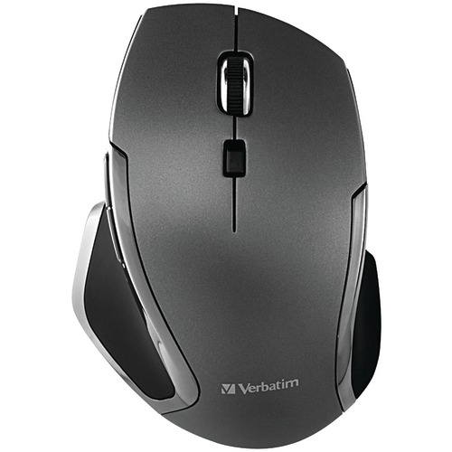 Verbatim Wireless Notebook 6-button Deluxe Blue LED Mouse (graphite)